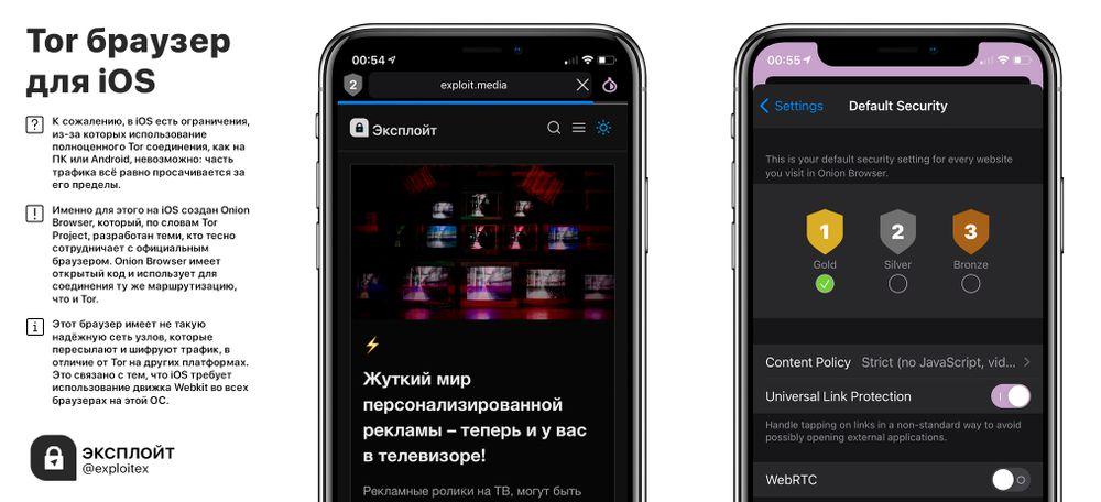 как пользоваться тор браузером с айфона gydra